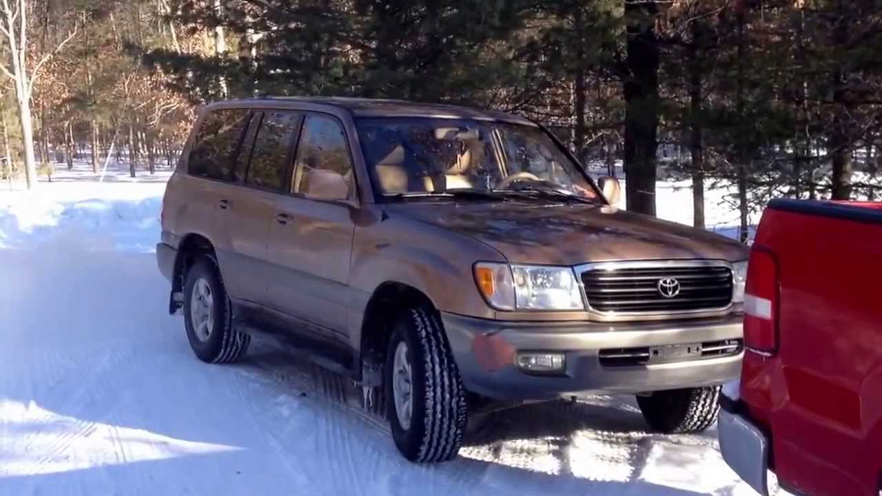 22 F Cold Start Land Cruiser 100 Series Youtube Toyota