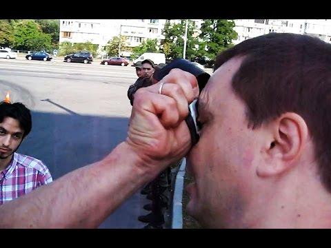 Патрульная полиция жестко шмонает киевлян
