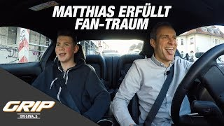 Matthias erfüllt Fan-Traum mit Ford Mustang V8 | GRIP Originals
