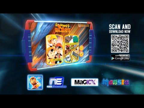 BoBoiBoy Bounce & Blast Promo