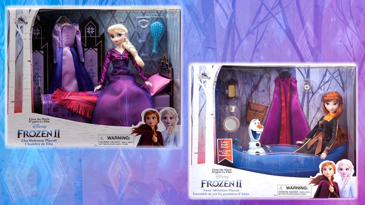 frozen 2 elsa anna bedroom adventure classic doll play sets