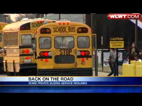 Buses Back On Road In Lakota School District