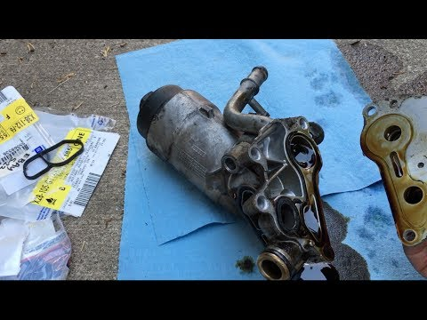 2011 Chevy Cruze Oil Cooler Seals Replacement Removal
