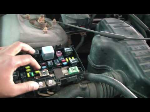 [SCHEMATICS_4LK]  2005 Honda Civic Under Hood Fuse Box - YouTube | 05 Civic Fuse Box |  | YouTube