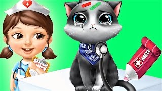 Fun Little Kitten Care Games - Play And Take Care Of Cute Pets - Children Fun Pet Game Video