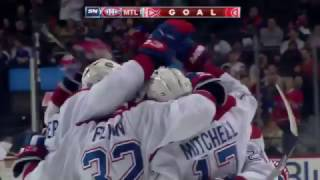 Phillip Danault 2-1 Goal - Canadiens @ Islanders - 10.26.2016 - HD