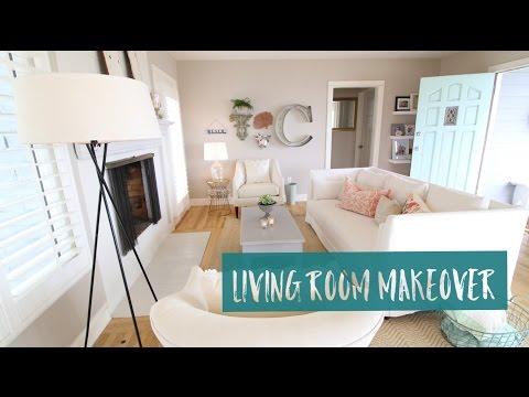 LIVING ROOM [RE-ARRANGE] MAKEOVER