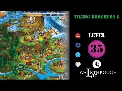 Viking Brothers 6 - Level 35 Walkthrough |