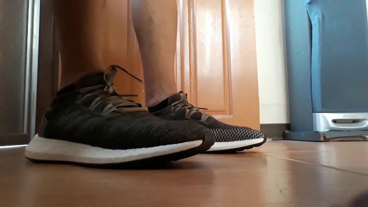 Adidas Pureboost Go on feet (Pinoy
