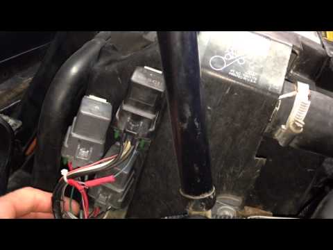 1995 C4 Corvette Restoration - Fan Switch
