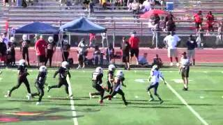 #4 Grayson Barry Scottsdale Argonauts 6th Grade Football Highlights Spring 2011