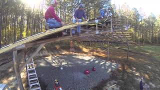 Roofing The Picnic Shelter