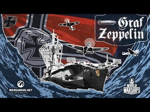 """T8 CV Graf Zeppelin - Just another """"average"""" game"""
