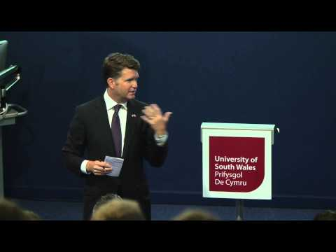 'Model' NATO Summit - Matthew Barzun, US Ambassador to the UK
