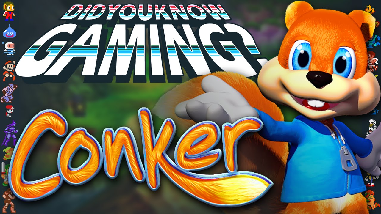 Conker - Did You Know Gaming? Feat. TheCartoonGamer