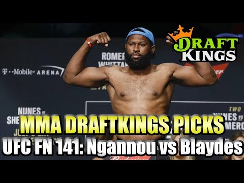 UFC Fight Night 141 Ngannou Vs Blaydes - DraftKings MMA Picks - 3 Pack