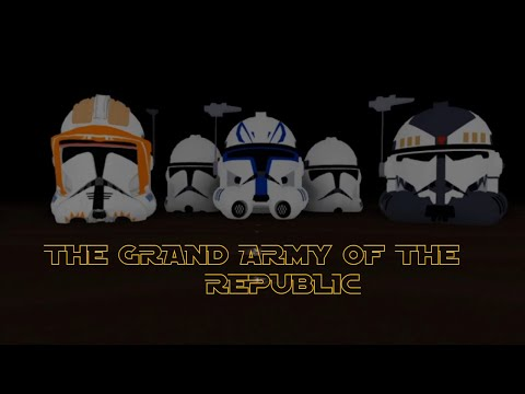 The Grand Army Of The Republic Roblox Group Release