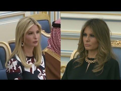 Melania, Ivanka Trump forgo headscarves