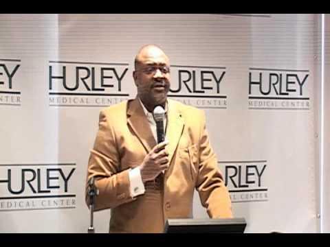 Hurley Men's Health Initiative Press Conference