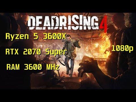 Dead Rising 4 - Ryzen 5 3600X - RTX 2070 Super (stock) TEST |