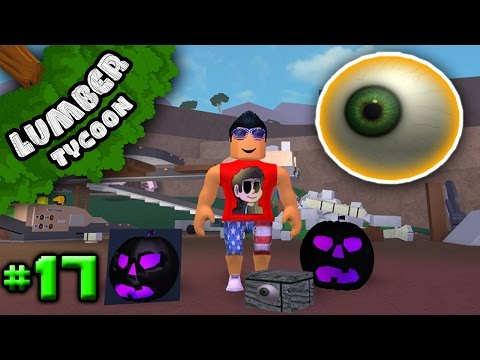 Lumber Tycoon Ep. 17: NEW HALLOWEEN ITEMS | Roblox