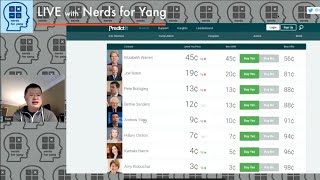 How is Andrew Yang fairing in betting odds, Twitter growth, and how much time do we have? [NFY Clip]