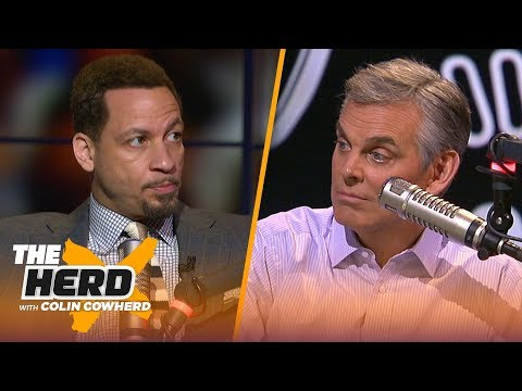Chris Broussard: KD & Kyrie 'could win' a title with Nets, talks Kawhi & Lakers | NBA | THE HERD