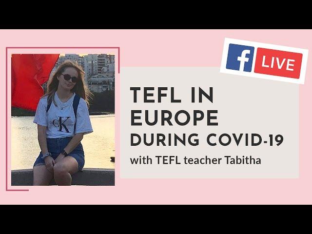i-to-i WEBINAR   Episode 12: TEFL in Europe during Covid-19