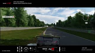 Sfida Lewis Hamilton-GT sport hot lap