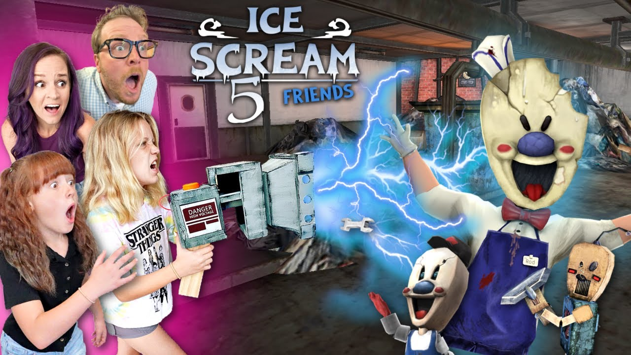 Download ICE SCREAM 5.. IN REAL LIFE (NOOB Family) FRIENDS
