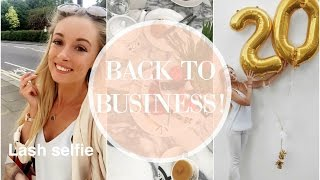 BACK TO BUSINESS! Getting Nouveau Lashes & A Busy Blogger Day!  |  Fashion Mumblr Every Day May