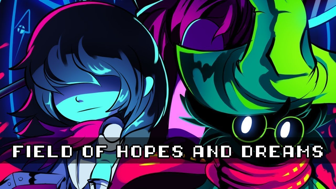 DELTARUNE - Field of Hopes and Dreams Remix Chords - Chordify