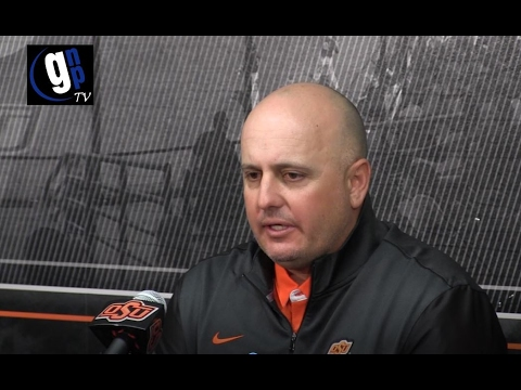 Oklahoma State Baseball Media Day with Josh Holliday