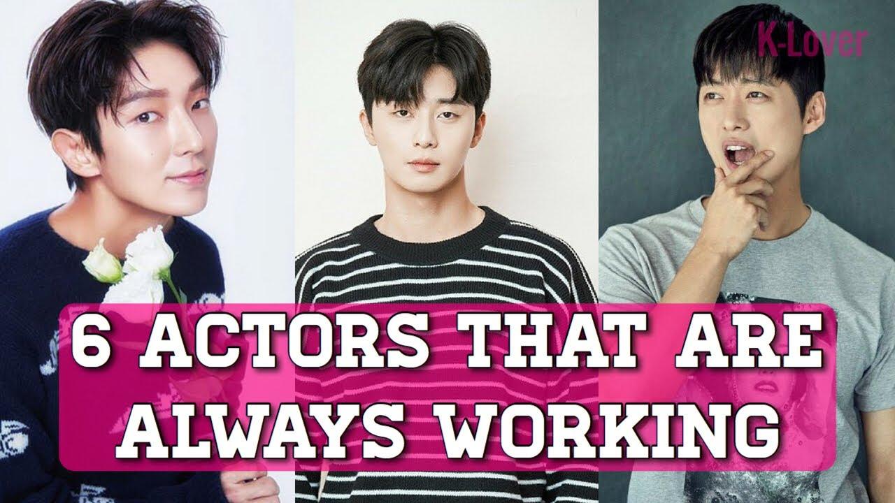 Download 6 Korean Actors That Never Stop Working (Dramas)