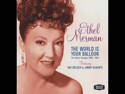 Ethel Merman - Diamonds Are A Girl's Best Friend