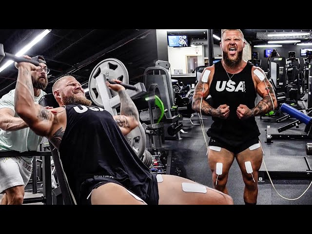 FULL BODY POWERBUILDING WITH ELECTRIC MUSCLE STIMULATION  | PHIL DARU