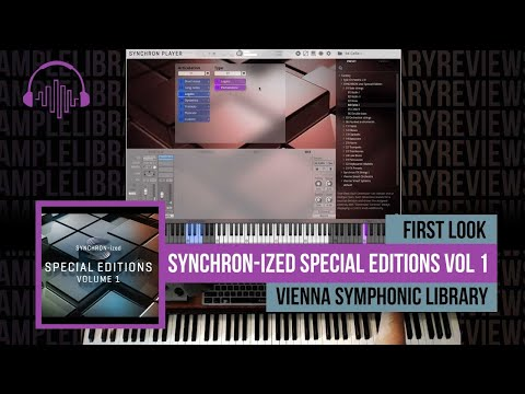 First Look: SYNCHRON-ized Special Editions Vol 1 by Vienna Symphonic Library