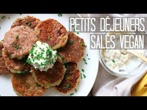 PETITS DÉJEUNERS SALÉS VEGAN | PANCAKES & BACON (Sans Gluten)