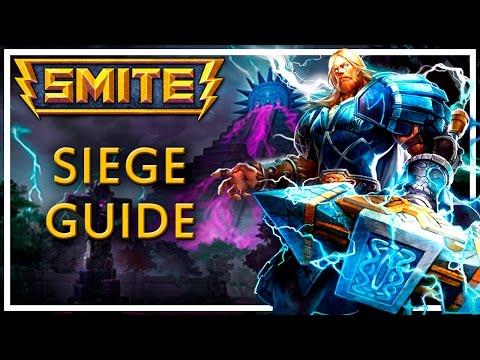 видео: smite: siege, гайд для новичков