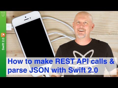 How to make REST API calls & parse JSON...