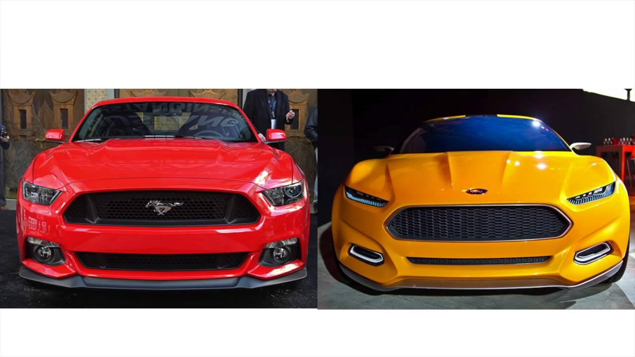 2015 Mustang vs Evos Concept - YouTube