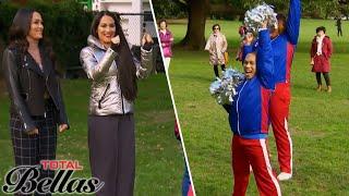 Nikki Invites Brie Bella to See the Bella Cheerleaders' Routine | Total Bellas | E!