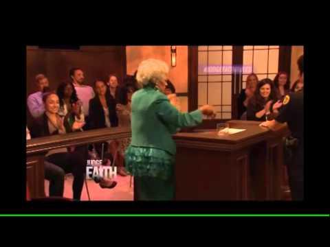 Dancing Lady on Judge Faith
