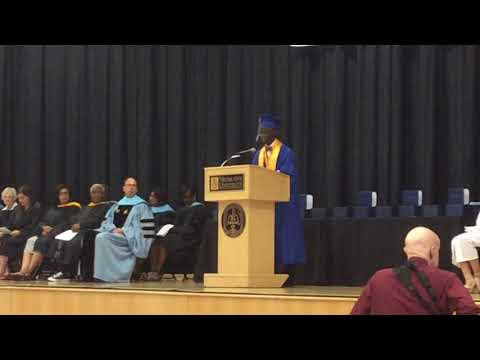 Academy Park High School 2018 Valedictory Address by Malcolm Bevans