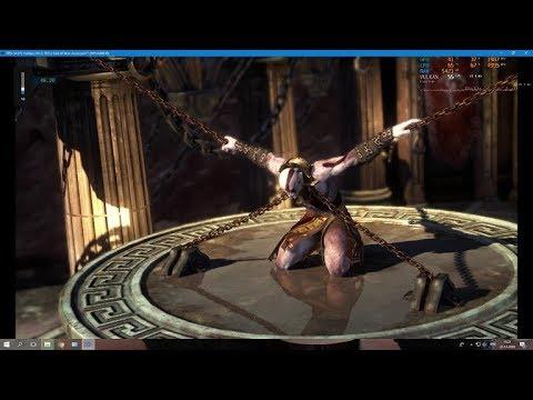God of War 3 [RPCS3/PS3 Emulator] USA Gameplay {SPU LLVM Recompiler