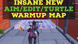 Insane Aim/Edit/Turtling Warmup Map - Fortnite Creative Maps #4