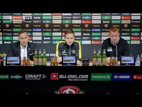 19. Spieltag | SGD - DSC | Pressekonferenz vor dem Spiel