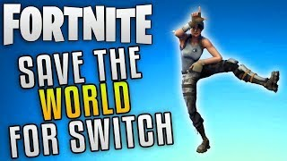 [Ne fonctionne plus] GLITCH pour accéder à FORTNITE SAVE THE WORLD sur NINTENDO SWITCH!