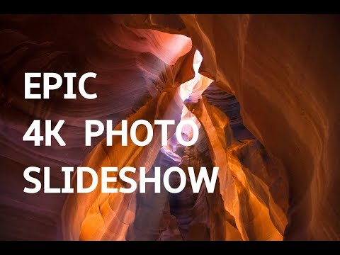EPIC PHOTO SLIDESHOW IN 4K UHD! Beautiful Art Photography Slideshow Screensaver | Silent Scenery