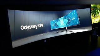 CES 2020: Samsung Drops the Hammer with the Odyssey G9 Ultra-Wide Gaming Monitor!